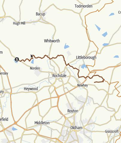 Map / norden - ogden