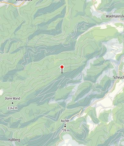 מפה / Gauermannhütte