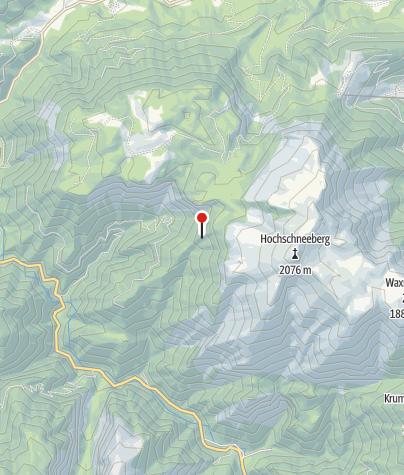 Karte / Kienthalerhütte