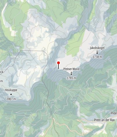 Cartina / Neue Seehütte