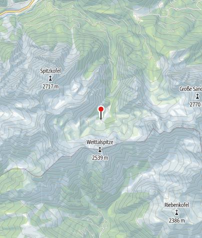 Karte / Kerschbaumeralm-Schutzhaus