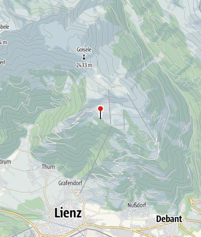 Karte / Zettersfeldhütte