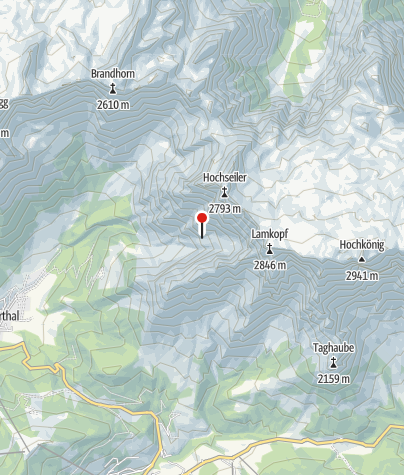 Karte / Bertgenhütte