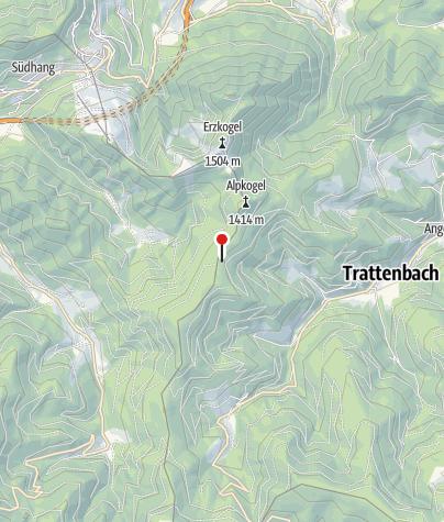 地图 / Alpkogelhütte