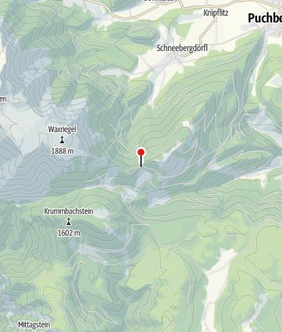 Karte / Adolf-Kögler-Hütte