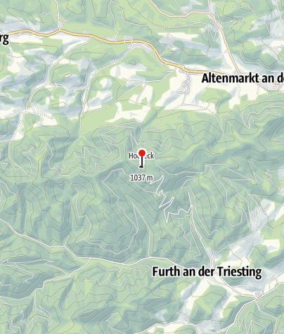 Karte / Hocheck-Schutzhaus