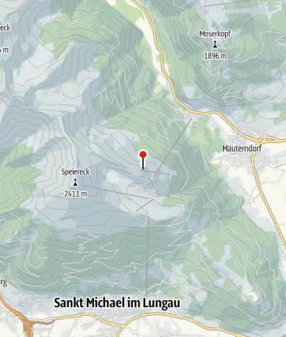 Karte / Speiereckhütte
