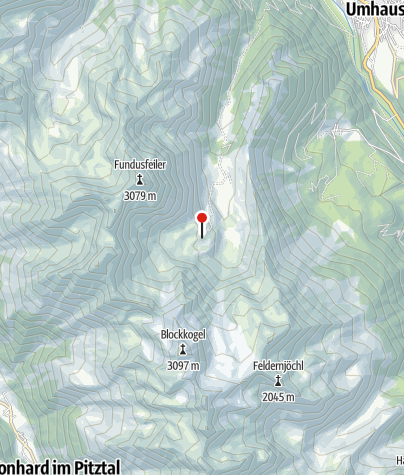 Karte / Frischmannhütte