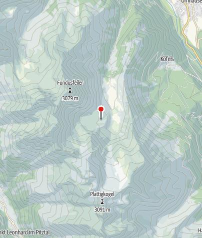 地图 / Frischmannhütte