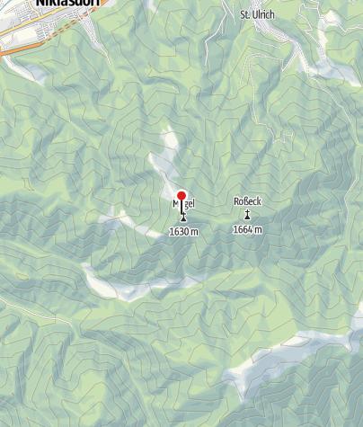 Karte / Mugelschutzhaus