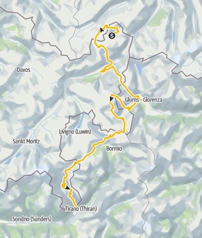 Karte / 32 Trans-Altarezia Bike