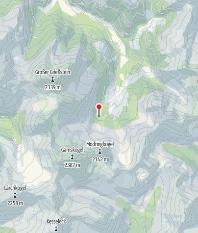 Karte / Mödringhütte 1467m
