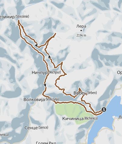 Map / MTB STREZO
