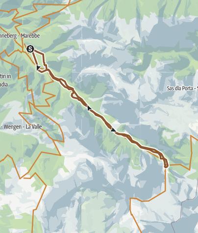 Map / SanVigilio Pederù