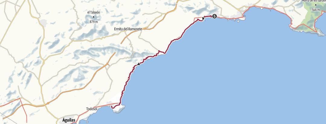 Mapa / Bolnuevo -Calabardina
