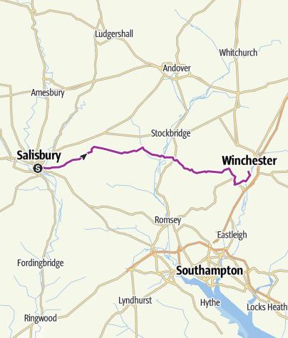 Map / Claredon Way