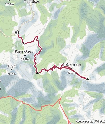 Térkép / Valia Calda-Periboli-Pyrostia