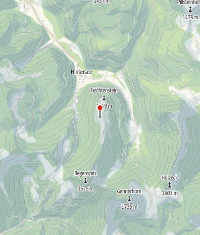 Karte / Feichtensteinalm