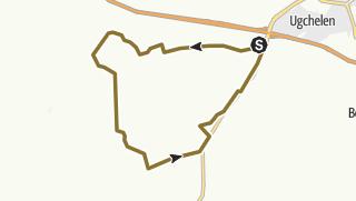 Map / Cant 16 km Hoog Buurlo