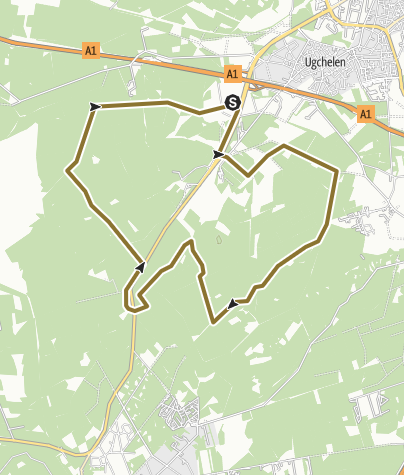 Map / Cant 17 -15km dig