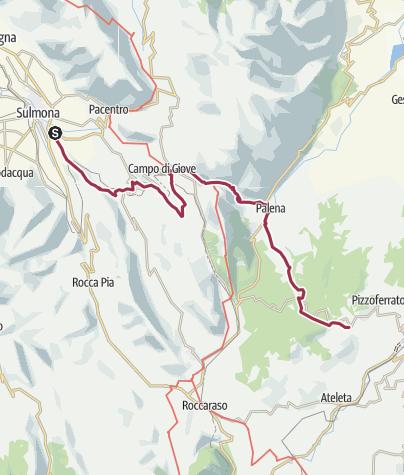 Map / Sentiero della Liberta