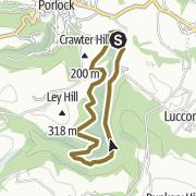 Map / Horner Valley, Somerset