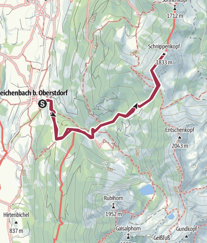 Map / Schnippenkopf
