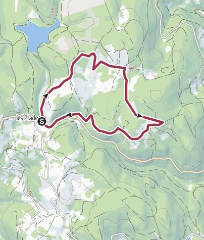 Map / Rando col des Pradeaux