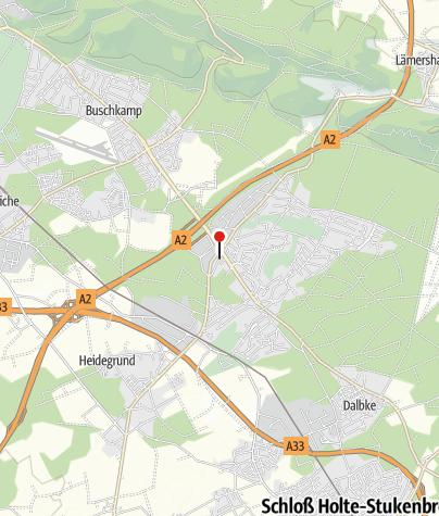 Map / Quality Hotel Bielefeld