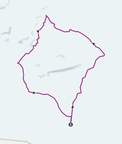 Map / Arminto E-5 loop