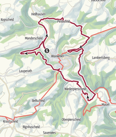Mapa / Panoramaweg 100