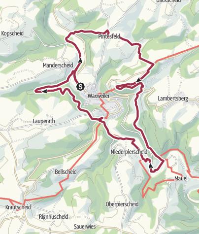 Karte / Panoramaweg 100