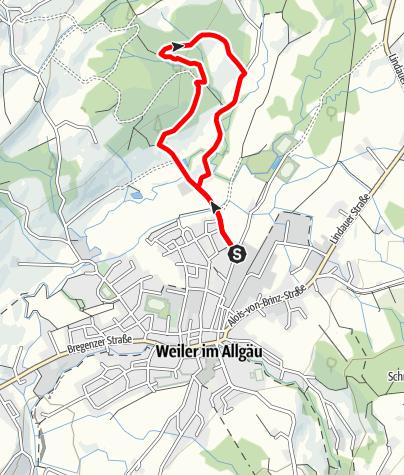 Karte / Weiler-Simmerberg R11