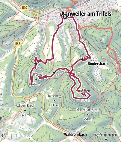 Karte / Annweiler Richard-Löwenherz-Weg