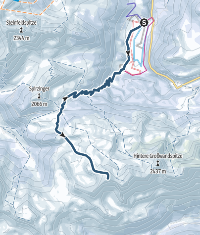 Karte / Kleiner Pleißlingkeil in den Niederen Tauern
