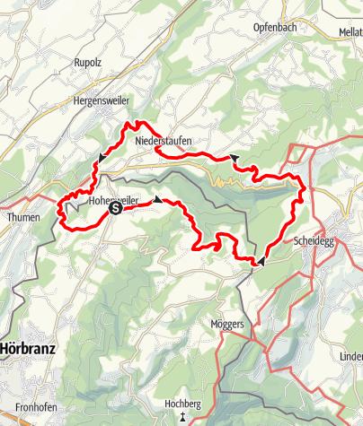 Karte / Brückenschlag Leiblach: Wandern am Grenzfluss - Westallgäuer Wasserweg 31