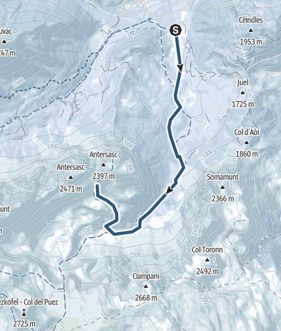Map / Zwölferkofel
