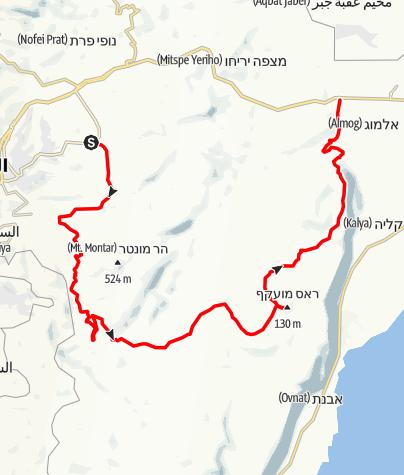Mapa / ממעלה אדומים  לברסבא