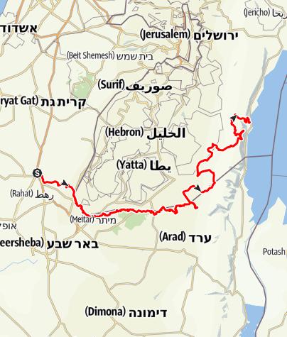 Mapa / מבית קמה עד למצוקי דרגות