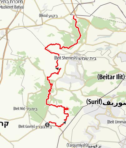 Карта / מבית גוברין-ללטרון