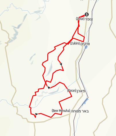 Mapa / מעלה עשוש ארמון ורדית