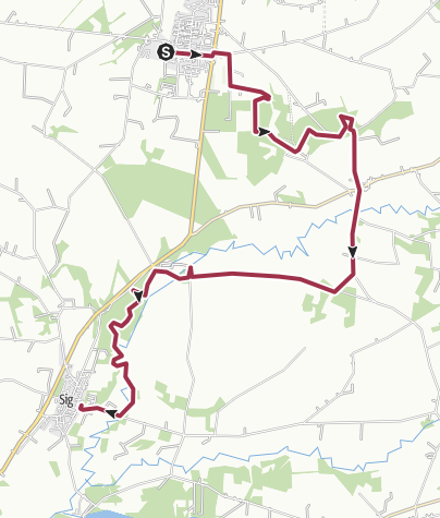 Map / Tistrup- Sig Track 6. nov 2016