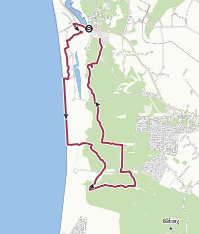 Map / Nymindegab rundtur