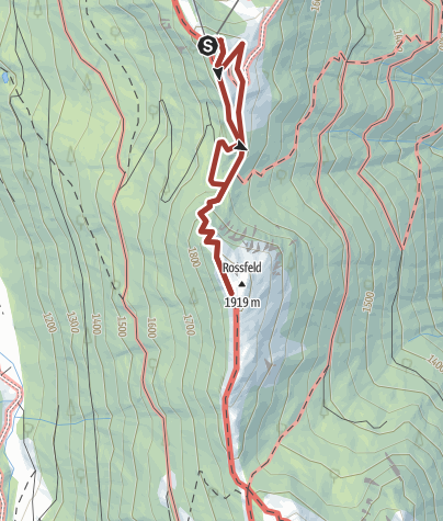 Karte / Naturlehrpfad Rossfeld