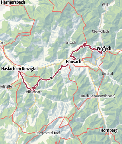 Karte / Kinzigtal - Kinzigtäler Jakobusweg , 3. Etappe
