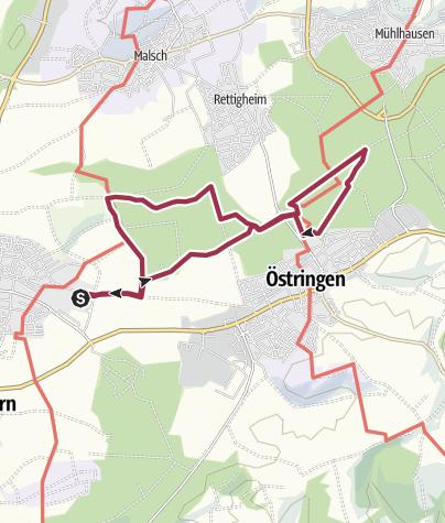 Karte / Hammelsgraben-Tour