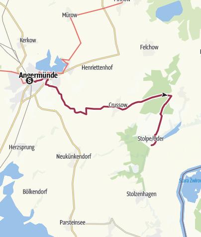 Karte / Märkischer Landweg (7)