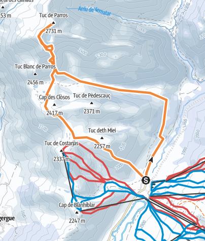 Map / Tuc de Parros