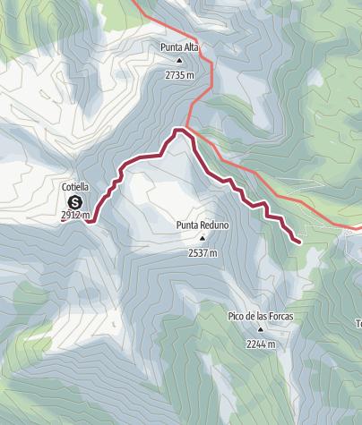 Map / 26 juillet Cotiella