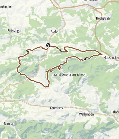 Karte / Klammhöhe-Strecke